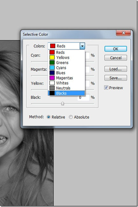 Selective color 2