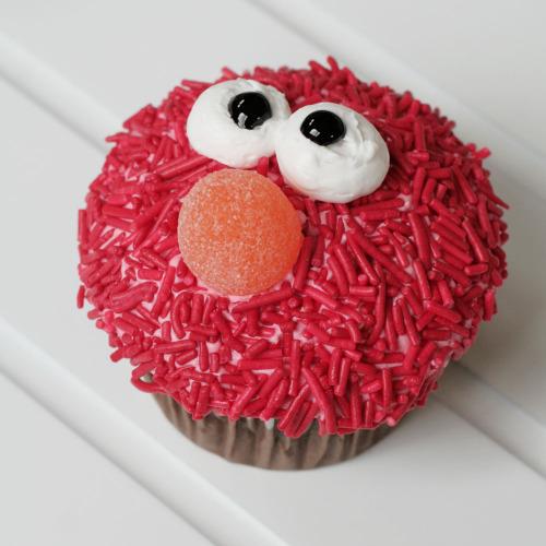 Cupcakes Elmo Cupcake